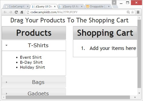 Jquery Product Catalog Create a Product Catalog Using